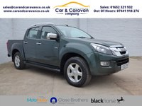USED 2015 15 ISUZU D-MAX 2.5 TD UTAH DCB 4d AUTO 164 BHP Service History Leather A/C Buy Now, Pay in 2 Months!