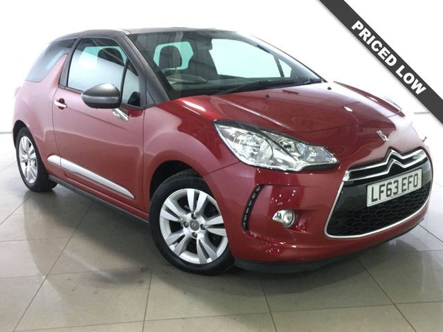 View our 2013 63 CITROEN DS3 1.6 E-HDI DSTYLE 3d 90 BHP