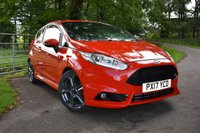 USED 2017 17 FORD FIESTA 1.6 ST-3 3d 180 BHP 15,953 MILES, FULL FORD SERVICE HISTORY, FORD MANUFACTURER'S WARRANTY UNTIL MAY 2020. SAT NAV, BLUETOOTH CONNECTIVITY, DAB RADIO, CLIMATE CONTROL + MUCH MORE!