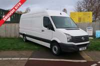 USED 2016 16 VOLKSWAGEN CRAFTER 2.0 CR35 TDI H/R P/V 1d 108 BHP 1 OWNER,FSH,BLUETOOTH,CRUISE