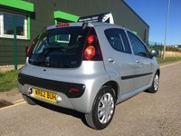 USED 2012 62 PEUGEOT 107 1.0 ACTIVE 5d 68 BHP