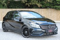 USED 2016 16 MERCEDES-BENZ A CLASS 2.1 A 200 D AMG LINE 5d 134 BHP NIGHT PACK. BALANCE OF MERCEDES WARRANTY.