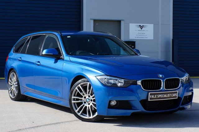 2012 62 BMW 3 SERIES 2.0 320D M SPORT TOURING AUTO