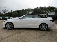 "USED 2016 65 MERCEDES-BENZ E CLASS 3.0 E 350 D AMG LINE EDITION 2d AUTO 255 BHP AIR SCARF, SAT NAV, LEATHER, 19"" ALLOYS, CLIMATE CONTROL, BLUETOOTH, CRUISE CONTROL, PARKING SENSORS, MAIN DEALER SERVICE HISTORY, SPARE KEY"