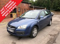 USED 2005 55 FORD FOCUS 2.0 GHIA 5d 144 BHP Only 2 Previous Owners, Extensive Service History - 11 Stamps in the service book, MOT until 31st August 2019. Free RAC warranty and Free RAC Breakdown Cover. Finance Available at 9.9% APR representative.