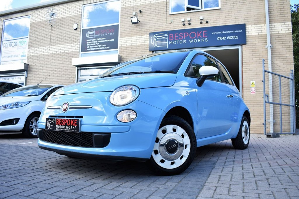 USED 2014 64 FIAT 500 1.2 COLOUR THERAPY 3 DOOR