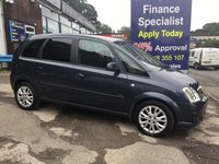 2010 VAUXHALL MERIVA 1.6 ACTIVE PLUS 5d 100 BHP, only 43000 miles, 2 Owners £3495.00