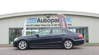 2010 MERCEDES-BENZ E CLASS 2.1 E220 CDI BLUEEFFICIENCY AVANTGARDE 4d 170 BHP £8395.00