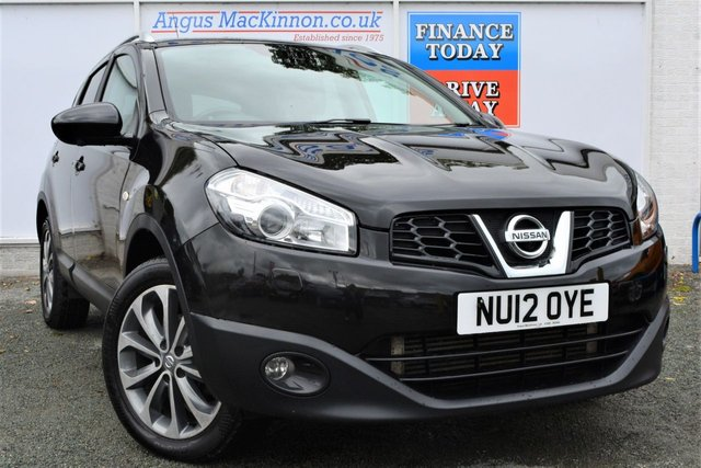 2012 12 NISSAN QASHQAI 2.0 TEKNA DCI 4WD AUTO Great Value High Spec 5dr Family SUV