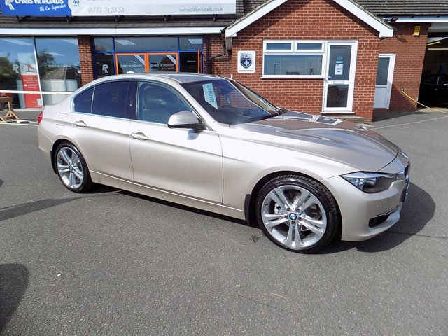 USED 2012 62 BMW 3 SERIES 2.0 328I LUXURY 4dr (240) * Upgrade Alloys + Leather + DAB *