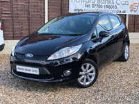 USED 2009 59 FORD FIESTA 1.2 ZETEC 5d 81 BHP AN IDEAL FIRST CAR ++ PREMIUM WARRANTY INCLUDED