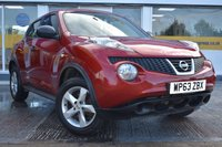USED 2014 63 NISSAN JUKE 1.5 VISIA DCI 5d 110 BHP COMES WITH 6 MONTHS WARRANTY
