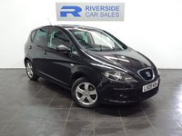 2009 SEAT ALTEA 1.6 REFERENCE SPORT 5d 101 BHP £2500.00