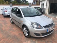 2006 FORD FIESTA 1.2 STYLE CLIMATE 16V 5d 78 BHP £2995.00