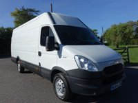 USED 2014 64 IVECO DAILY 35S13 EXTRA LWB HIGH TOP 2.3HDI 130 BHP Popular Extra Lwb High Top Iveco Direct From Leasing Company In Excellent Condition!
