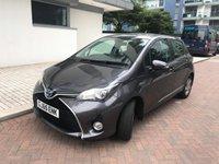 2015 TOYOTA YARIS 1.5 HYBRID ICON 5d AUTO 73 BHP £11190.00