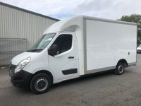 USED 2016 16 RENAULT MASTER 2.3 LL35 BUSINESS DCI L/R LUTON LOW LOADER 125 BHP