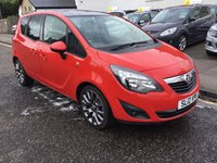 USED 2012 12 VAUXHALL MERIVA 1.4 ACTIVE LIMITED EDITION 5d 99 BHP OUR  PRICE INCLUDES A 6 MONTH AA WARRANTY DEALER CARE EXTENDED GUARANTEE, 1 YEARS MOT AND A OIL & FILTERS SERVICE. 6 MONTHS FREE BREAKDOWN COVER.   CALL US NOW FOR MORE INFORMATION OR TO BOOK A TEST DRIVE ON 01315387070 !!