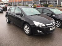 2011 VAUXHALL ASTRA 1.4 EXCLUSIV 5d 98 BHP £4395.00