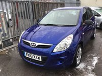 USED 2010 10 HYUNDAI I20 1.2 CLASSIC 5d 77 BHP Low cost reliable 5 door hatchback, stunning example.