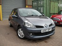 USED 2007 57 RENAULT CLIO 1.5 DYNAMIQUE DCI 5d 86 BHP ANY PART EXCHANGE WELCOME, COUNTRY WIDE DELIVERY ARRANGED, HUGE SPEC