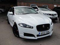 2012 JAGUAR XF 3.0 V6 S PREMIUM LUXURY 4d AUTO 275 BHP £12780.00