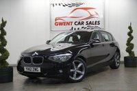 2012 BMW 1 SERIES 1.6 116I SE 5d 135 BHP £6990.00