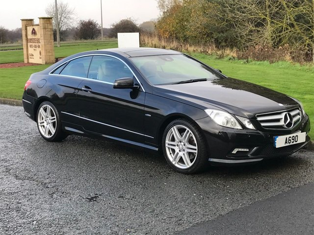 USED 2011 11 MERCEDES-BENZ E CLASS 2.1 E250 CDI BLUEEFFICIENCY SPORT 2d AUTO 204 BHP Sat Nav, DAB Radio