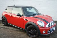 2011 MINI HATCH COOPER 1.6 COOPER 3d 122 BHP £5236.00