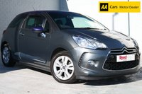 USED 2013 63 CITROEN DS3 1.6 DSTYLE 3d 120 BHP LOW MILES + FSH + BLUETOOTH