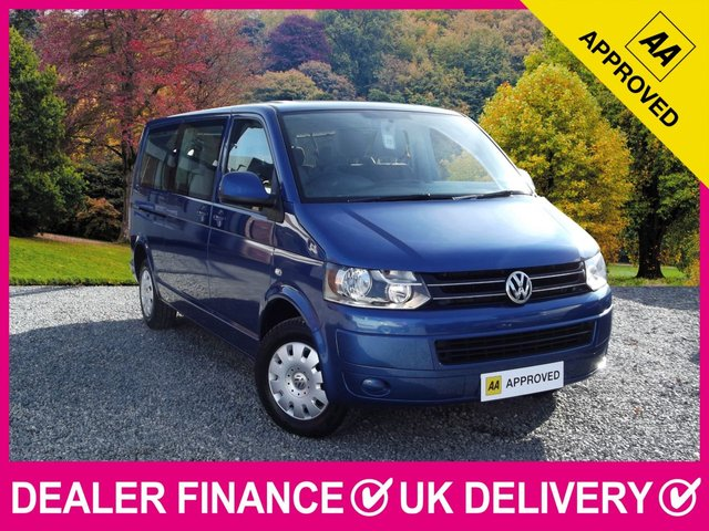 View our VOLKSWAGEN TRANSPORTER SHUTTLE