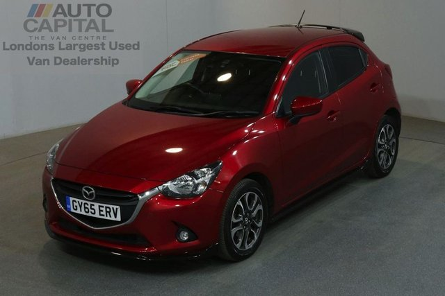 2015 65 MAZDA 2 1.5 SPORT BLACK 5d 89 BHP AIR CON EURO 6 PETROL MANUAL CAR