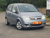USED 2007 57 VAUXHALL MERIVA 1.2 ENERGY CDTI 5d 73 BHP ULTRA LOW MILEAGE ONLY 31K VGC