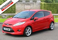 USED 2011 11 FORD FIESTA 1.6 ZETEC S 3d 118 BHP Finance options available