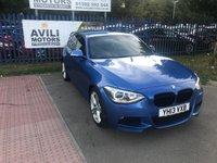 2013 BMW 1 SERIES 1.6 116I M SPORT 5d 135 BHP £10985.00