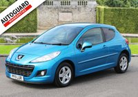 USED 2011 11 PEUGEOT 207 1.4 SPORTIUM 3d 95 BHP Finance options available