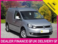 USED 2013 13 VOLKSWAGEN CADDY 1.6 TDI HIGHLINE SAT NAV AIR CON SAT NAV AIR CON CRUISE BLUETOOTH HALF LEATHER