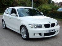 2008 BMW 1 SERIES 2.0 118D M SPORT 5d 141 BHP £4995.00
