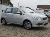USED 2010 60 CHEVROLET AVEO 1.2 LS 5d 83 BHP PRICE INCLUDES A 6 MONTH RAC WARRANTY, 1 YEARS MOT WITH 12 MONTHS FREE BREAKDOWN COVER