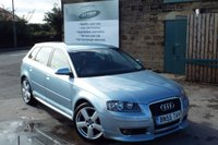 USED 2005 55 AUDI A3 2.0 T FSI QUATTRO SPORT 5d 197 BHP Full Service History...Full Contrasting Leather Seats