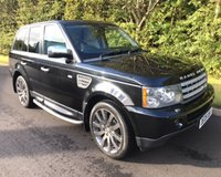 USED 2009 09 LAND ROVER RANGE ROVER SPORT 3.6 TDV8 SPORT HSE 5d AUTO 269 BHP 6 MONTHS PARTS+ LABOUR WARRANTY+AA COVER