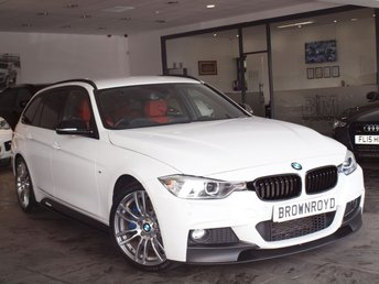 2013 BMW 3 SERIES 2.0 328I M SPORT TOURING 5d AUTO 242 BHP £17990.00
