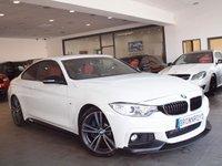 USED 2015 15 BMW 4 SERIES 2.0 428I M SPORT 2d AUTO 242 BHP M PERFROMANCE STYLING+PRO NAV