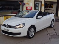 USED 2013 13 VOLKSWAGEN GOLF 1.6 SE TDI BLUEMOTION TECHNOLOGY EX DEMO 1 OWNER FROM NEW FULL VW SERVICE HISTORY