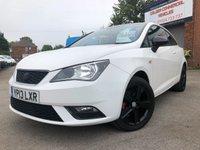 2013 SEAT IBIZA 1.4 TOCA 3d 85 BHP £6200.00
