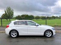 2017 BMW 1 SERIES 1.5 116D ED PLUS 5d 114 BHP £12995.00
