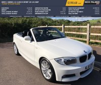 USED 2011 61 BMW 1 SERIES 2.0 118D M SPORT 2d 141 BHP M SPORT WITH LOW MILEAGE