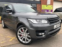 2013 LAND ROVER RANGE ROVER SPORT 3.0 SDV6 AUTOBIOGRAPHY DYNAMIC 5d AUTO 288 BHP £37995.00