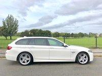 2014 BMW 5 SERIES 2.0 520D M SPORT TOURING 5d AUTO 181 BHP £13995.00