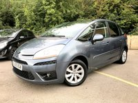 2009 CITROEN C4 PICASSO 1.6 VTR PLUS HDI EGS 5d AUTO ONLY 2 FORMER KEEPERS, 51K £3990.00